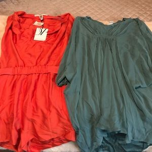 Diane Von Furstenberg romper and dress size 2 & 4